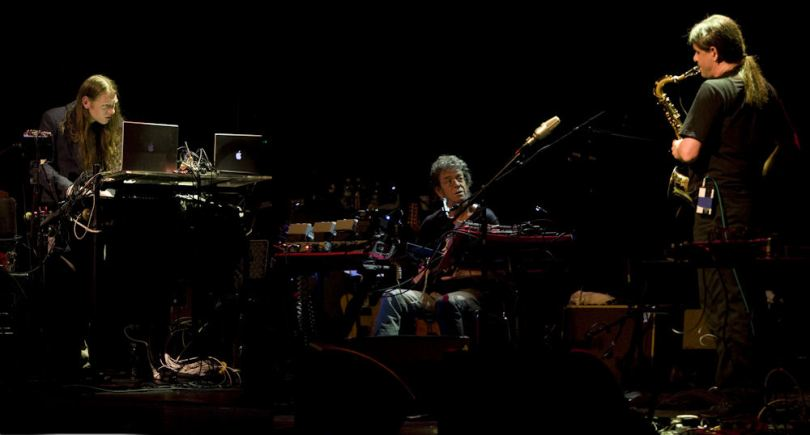 Lou Reed's Metal Machine Music Trio, photo by Amy-Beth McNeely